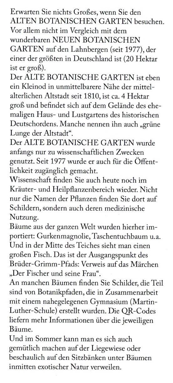 Marburg Botanischer Garden 2