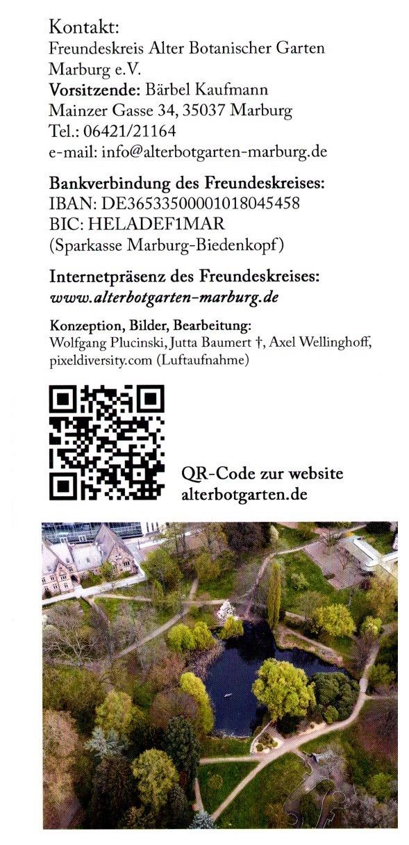 Marburg Botanischer Garden 4