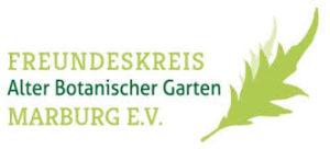 logo alter botanischer garten marburg 300x136